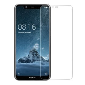 Karkaistu lasi näytönsuoja Nokia 5.1 Plus caseonline näytönsuoja
