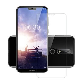 Karkaistu lasi näytönsuoja Nokia 6.1 Plus näytön kotelo