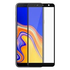 5D kaareva lasi näytönsuoja Samsung Galaxy J4 Plus (SM-J425F)