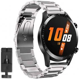 Huawei Watch GT2 ruostumattomasta teräksestä valmistettu rannekoru - hopea