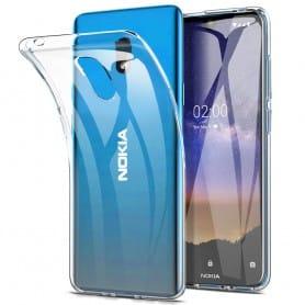 Silikonilaukku läpinäkyvä Nokia 2.2 (TA-1183)