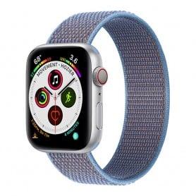 Apple Watch 5 (40 mm) nylonrannekoru - Cerulean