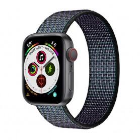 Apple Watch 5 (40 mm) nylonrannekoru - Glowing Grapes