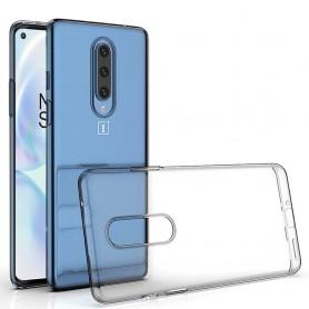 Silikoni läpinäkyvä OnePlus 8 (IN2010)