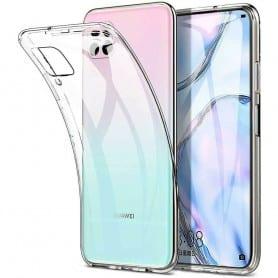 Läpinäkyvä silikoni Huawei P40 Lite (JNY-L21A)