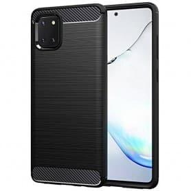 Harjattu silikonikotelo Samsung Galaxy Note 10 Lite (SM-N770F)