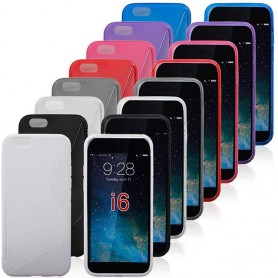 S Line Silicone tarvitsee iPhone 6 Plus