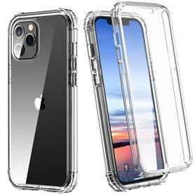 """360° Iskunkestävä 2i1 kotelo Apple iPhone 12 (5.4 """")"""
