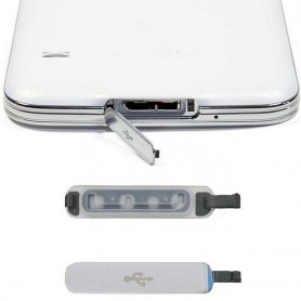 Galaxy S5 -latausportin kansi USB