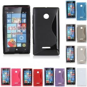 S Line silikonikuori Lumia 435, 532