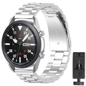 Ruostumaton teräsrannekoru Samsung Galaxy Watch 3 (41mm) - Hopea