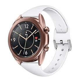 Sport rannerengas Samsung Galaxy Watch 3 (45mm) - Valkoinen