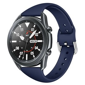 Sport rannerengas Samsung Galaxy Watch 3 (45mm) - Tummansininen