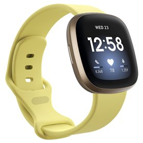 Sport Rannekoru Fitbit Versa 3 - Creamy Yellow