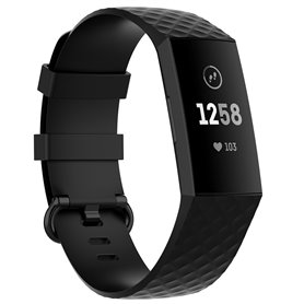 Sport Rannekoru Fitbit Charge 4 - Musta
