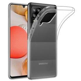 Silikonikotelo läpinäkyvä Samsung Galaxy A42
