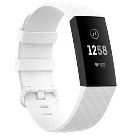 Sport Rannekoru Fitbit Charge 4 - Valkoinen