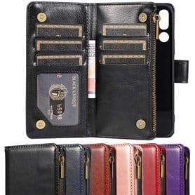 Kaksoiskäänto Zipper 9-kortti Doro 8050