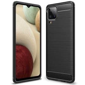 Harjattu TPU kuori Samsung Galaxy A12