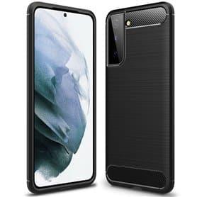 Harjattu TPU kuori Samsung Galaxy S21 Plus