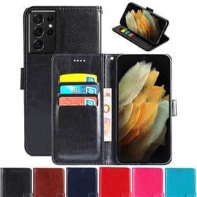 Lompakkokotelo 3-kortti Samsung Galaxy S21 Ultra