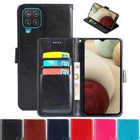Lompakkokotelo 3-kortti Samsung Galaxy A12