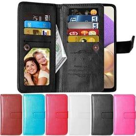 Lompakkotelo Flexi 9-kortti Samsung Galaxy A32 5G