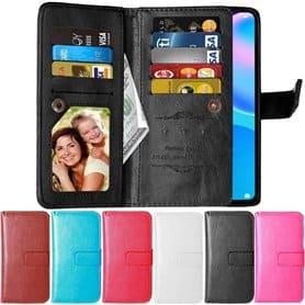 Lompakkotelo Flexi 9-kortti Huawei P Smart 2021