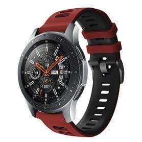 Twin Sport Rannekoru Armband Samsung Galaxy Watch 46 - Punamusta