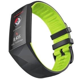 Twin Sport Rannekoru Armband Fitbit Charge 4- Musta/kalkki