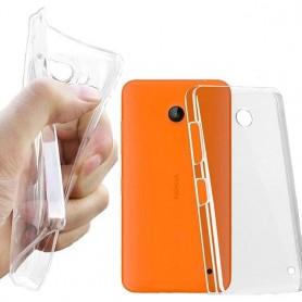 Nokia Lumia 630/635 -silikonin on oltava läpinäkyvä