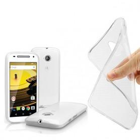 Motorola Moto E2 -silikonin on oltava läpinäkyvää