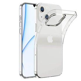 Silikonikotelo läpinäkyvä Apple iPhone 13