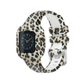 Kuviollinen Sport Rannekoru Garmin Vivofit jr. 3 - Leopardi