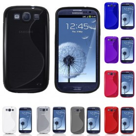 S Line silikonikuori Galaxy S3