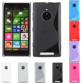S Line -silikonikotelo Nokia Lumia 830: lle
