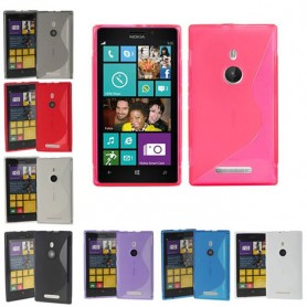 S Line -silikonikotelo Nokia 925 -puhelimelle