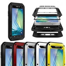 LOVE LORE Powerful Samsung Galaxy A5 2015 mobiili kuori metalli