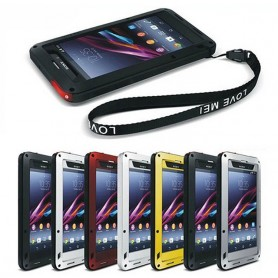 LOVE MORE Powerful Sony Xperia Z1 Xperia metallikuori