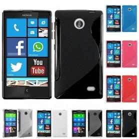 S Line -silikonikotelo Nokia X / X +