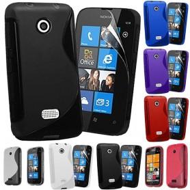 S Line -silikonikotelo Nokia Lumia 510: lle