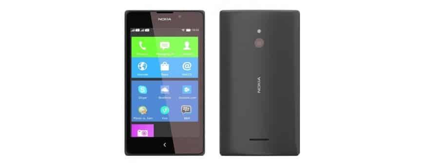 Nokia XL: n halvat matkapuhelimen lisälaitteet osoitteessa CaseOnline.se
