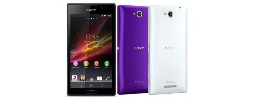 Sony Xperia E2 Halvat matkapuhelimen lisälaitteet CaseOnline.se