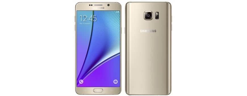 Osta matkapuhelimen lisälaitteita Samsung Galaxy Note 5 -sovelluksesta CaseOnline.se -sivustolta