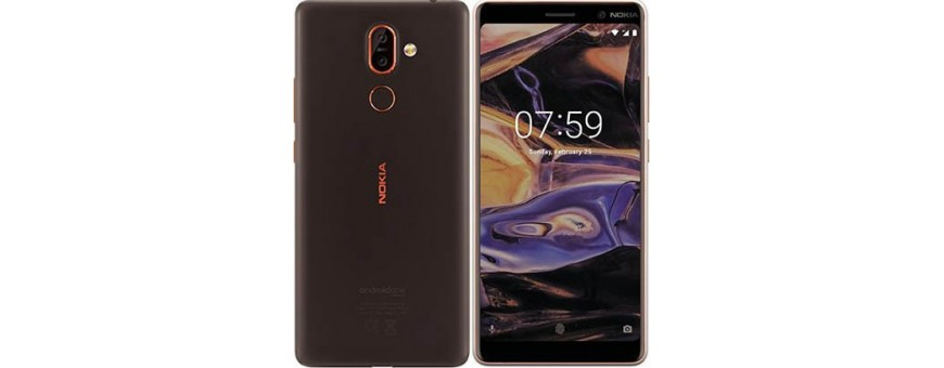 Osta kannettava kansi ja kansi Nokia 7 Plus -sovellukselle CaseOnline.se -sivustolta