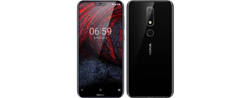 Osta kannettava kansi ja kansi Nokia 6.1 Plu (TA-1083) -sovellukselle CaseOnline.se -sivustolta