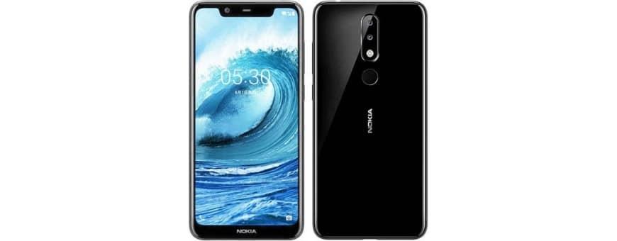 Osta mobiili kuori ja suojaus Nokia 5.1 Plus -sovellukselle osoitteesta CaseOnline.se