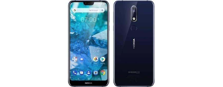 Osta matkapuhelimen lisälaitteita Nokia 8.1 2018 -sovelluksesta CaseOnline.se -sivulta