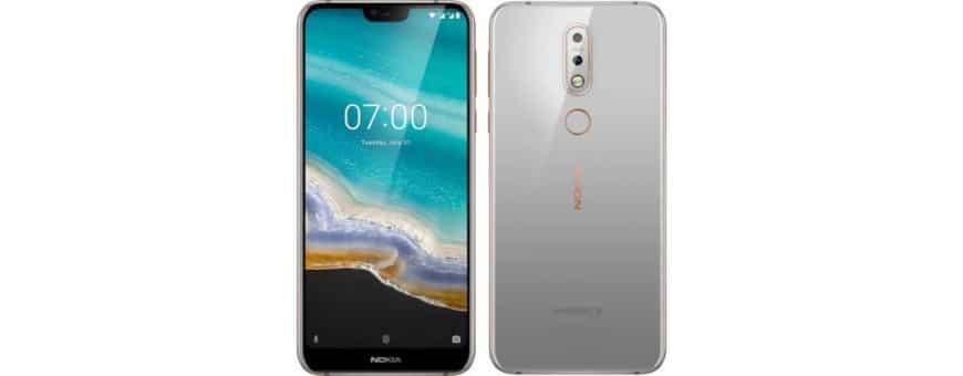 Halvat matkapuhelimen lisälaitteet Nokia 7.1 2018 -sovellukseen osoitteessa CaseOnline.se